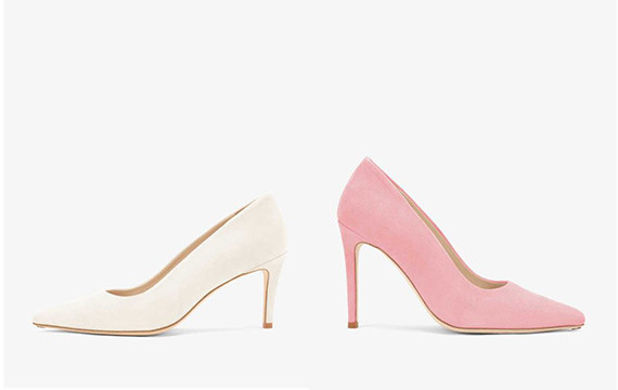Whisper White & Sweet Pink
