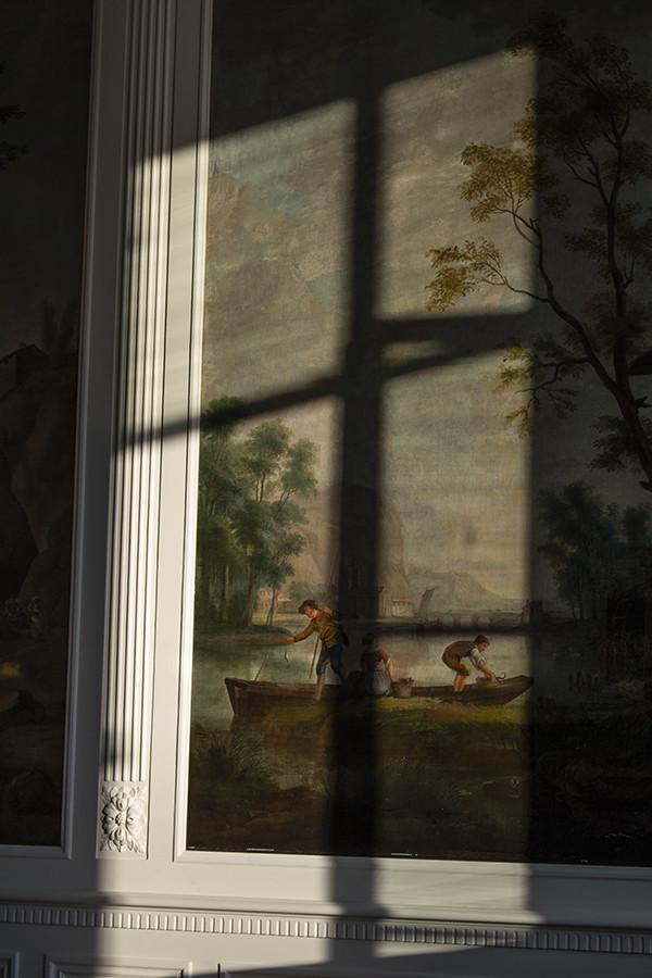 Parc Broekhuizen Leersum Old Painting Gallery Room Classic Building