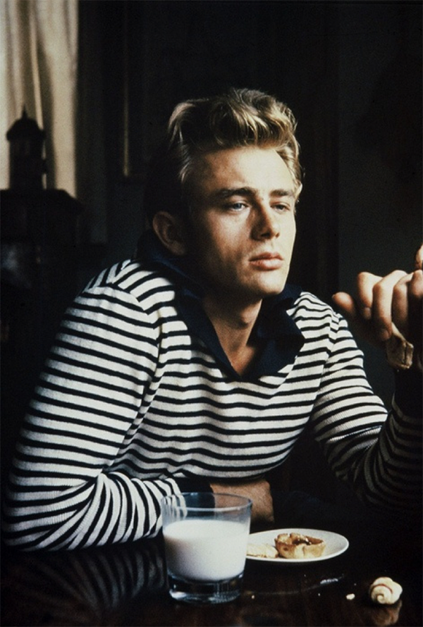 james dean jamesdean hot hottie stunning hotguy feraggio stripes bretonstripes breton fashion icon handsome feraggio