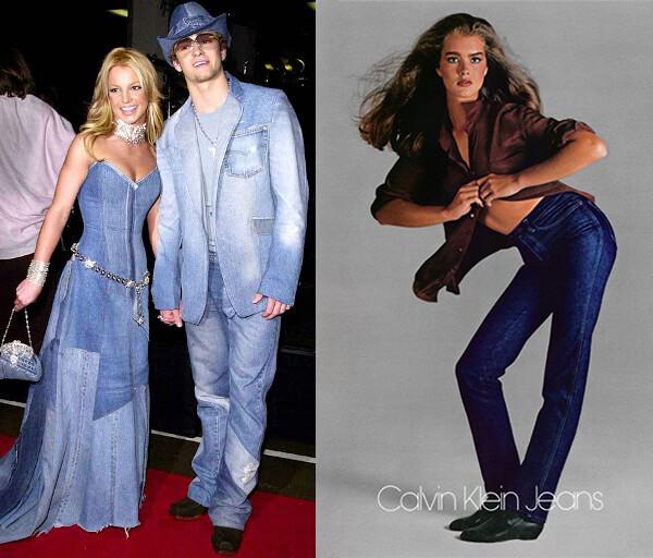 Justin and Britney denim