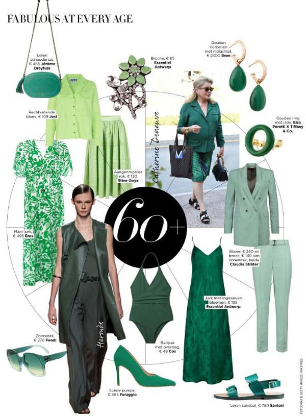Harper's Bazaar 2020 Juni Jade Green FERAGGIO