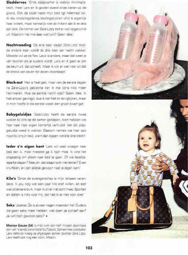 monica geuze zara lizzy youtube &c chantal jansen baby kinderen roze faux fur pink faux fur