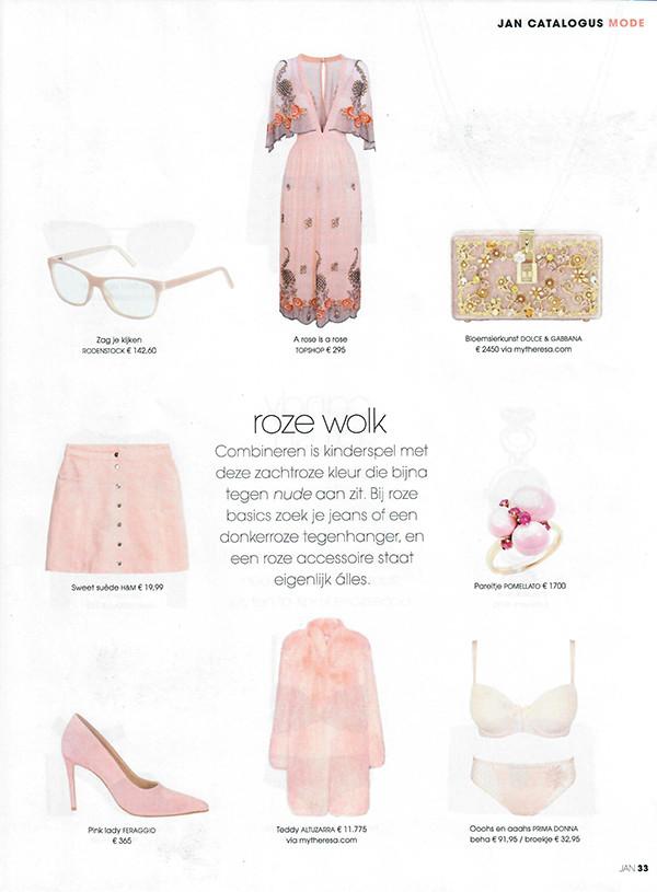 Jan, Sweet Pink, Pink, Pink lady, Roze, Roze wolk, Nude