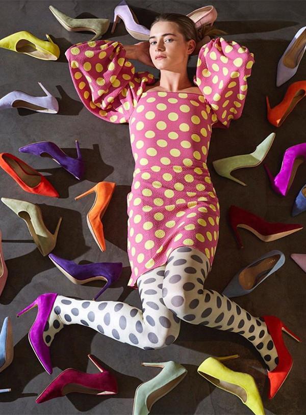emma wortelboer feraggio rainbow heels