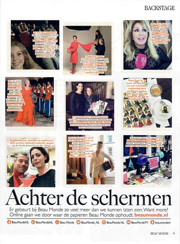 Beau Monde, Annechien, Nieuws, Journal, Red Orange, Red, Orange, Oranje, Rood