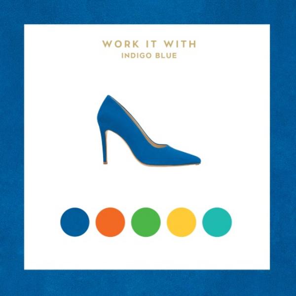 indigo blue heels