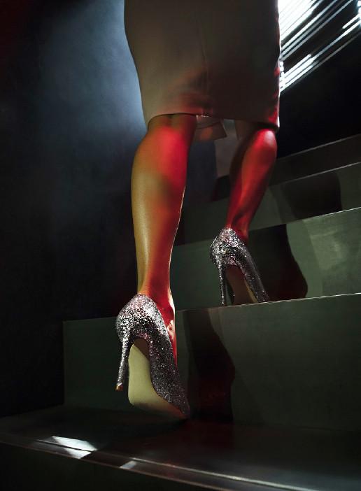 Silver Glitter 10 CM