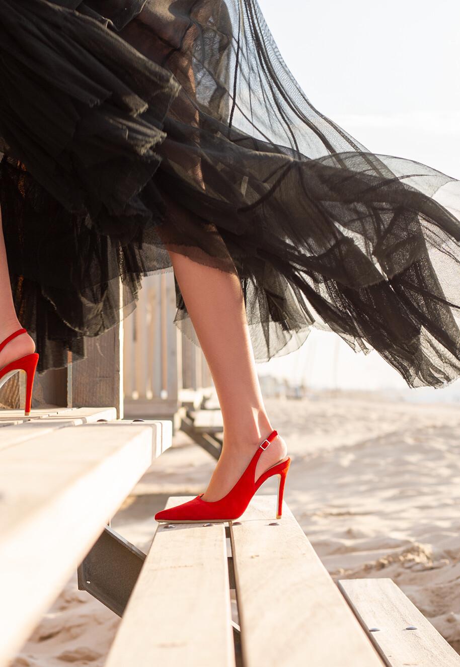 Scarlet Red Sling 10CM
